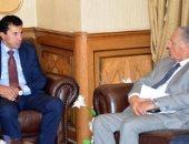 جلسة بين وزير الرياضة وأبوريدة لمناقشة ترتيبات مباراة مصر وتونس