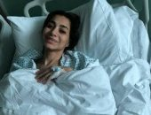 بسمة وهبة تجرى عملية جراحية حرجة بالمعدة بأحد مستشفيات كاليفورنيا