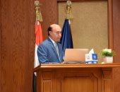 مميش يستقبل شباب الدبلوماسيين وطلبة الحربية للتعرف على قناة السويس الجديدة