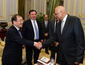 وفد برلمان الصين لعلى عبد العال: مصر تشهد مناخا آمنا واستقرارا غير مسبوق.. صور