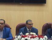 وزير القوى العاملة يفتتح ملتقى السلامة والصحة المهنية بحقل ظهر ببورسعيد.. صور