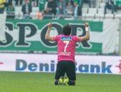 تريزيجيه أفضل لاعب فى مباراة قاسم باشا وبورصا سبور بالدورى التركى