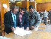 رئيس جامعة بنى سويف: لن نتدخل فى انتخابات الاتحاد ونحترم اختيارات الطلاب