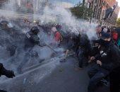 شاهد.. اضراب عمال هيئة السكك الحديدية الإسبانية يتسبب فى إلغاء 700 رحلة