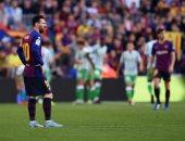 برشلونة يسقط ضد ريال بيتيس فى مباراة الأهداف السبعة بالدورى الإسبانى.. فيديو