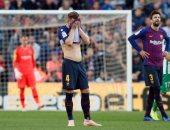 برشلونة ينهار ضد ريال بيتيس ويسقط بهدفين فى الشوط الأول.. فيديو