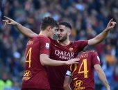 روما يكتسح سامبدرويا برباعية فى الدوري الإيطالي.. فيديو