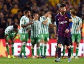 ملخص وأهداف مباراة برشلونة ضد ريال بيتيس بالدورى الإسبانى..فيديو