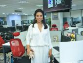 """نسرين أمين من """"اليوم السابع"""": أفاضل بين أكثر من سيناريو فى الفترة الحالية"""
