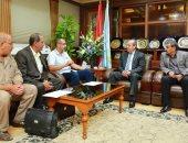 محافظ كفر الشيخ يتابع أعمال تقنين أراضى الدولة مع اللجنة الرباعية