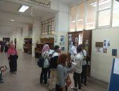 إقبال كثيف للطلاب فى أول أيام انتخابات الاتحادات الطلابية بجامعة بنها