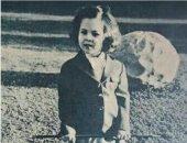 معلومة × صورة.. الأميرة فريال تتعلم ركوب الخيل وهى طفلة صغيرة