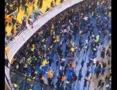 فيديو.. جماهير بوكا وريفر يواصلوا الرقص والغناء بعد إلغاء المباراة بسبب الأمطار
