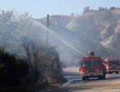 الإطفاء الأمريكية تخمد حرائق الغابات فى ولاية كاليفورنيا