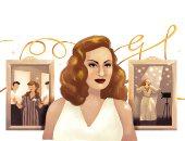 جوجل يحتفل بالذكرى الـ 87 لميلاد ملكة الإغراء الفنانة هند رستم