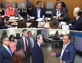 """سفير اليابان يزور """"اليوم السابع"""" فى أول جولة بصحيفة مصرية منذ توليه منصبه"""