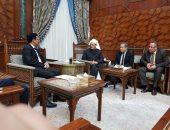 سفير اليمن يشيد بدور الأزهر الشريف فى نشر الفكر الوسطى