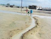 سقوط أمطار متوسطة على كافة مناطق شمال سيناء
