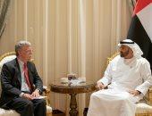 ولى عهد أبوظبى يبحث مع مستشار الأمن القومى الأمريكى العلاقات الثنائية