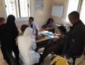 قوافل جامعة قناة السويس الطبية تعالج 319 حالة بشرية و139 حالة بيطرية برأس سدر