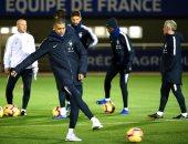 فيديو.. منتخب فرنسا يبدأ الاستعداد لقمة هولندا بدوري الأمم الأوروبية