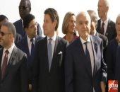 شاهد.. قادة الدول المشاركة فى مؤتمر باليرمو حول ليبيا يلتقطون صورا تذكارية