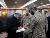 الإمام الأكبر: الأزهر يعمل جنبا إلى جنب مع القوات المسلحة فى محاربة الإرهاب