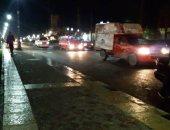 فيديو وصور .. أمطار غزيرة فى الإسكندرية والمحافظة ترفع درجة الطوارئ