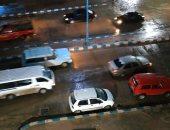 صور.. الأمطار الرعدية تواصل سقوطها على مطروح والساحل الشمالى