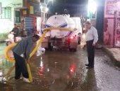 صور.. موجة من الأمطار تضرب مدن القليوبية وشركة المياه تدفع بسيارات الشفط