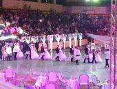 فيديو وصور.. حفل زفاف جماعى للأيتام وغير القادرين بأسيوط
