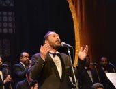 فيديو وصور.. على الحجار يحيى ختام مهرجان الموسيقى العربية بأوبرا الإسكندرية