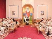 البابا تواضروس يلتقى الدارسين بكلية الأركان والقادة بالمقر الباباوى بالعباسية