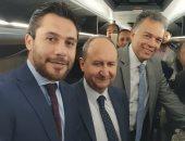 فيديو.. بيراميدز يتسلم أتوبيس الفريق الجديد بحضور وزراء الصناعة والتجارة والنقل