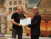 تكريم رموز مهرجان الإسكندرية وصحفيى اليوم السابع بدار الأوبرا المصرية