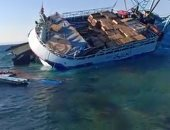 غرق مركب صيد بالبحر الأحمر ونجاة 22 صيادا على متنه من الدقهلية