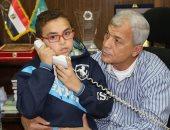 محافظ المنوفية يستقبل الطفل عبد الرحمن محمد ويستمع إلى شكواه.. صور