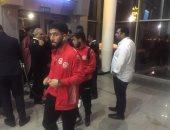 شاهد.. أول صور لمنتخب تونس فى مطار برج العرب قبل مواجهة الفراعنة