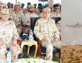 """القوات العربية المشاركة بـ""""درع العرب1"""" تنفذ عملية مشتركة لاقتحام بؤرة إرهابية"""