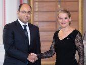 صور .. سفير مصر فى كندا يقدم أوراق اعتماده للحاكم العام الكندى