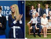 بالبولكا دوت الأزرق.. كيت ميلتون وإيفانكا ترامب بنفس الفستان فى مناسبات مختلفة