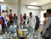 محطة معالجة القاهرة الجديدة تستقبل طلاب جامعة طنطا
