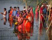 احتفالات الهنود بعيد شاتا بوجا