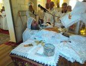 صور.. قيادات الكنيسة بالأقصر يترأسون قداس إحتفالات الأعياد السنوية لدير مارجرجس