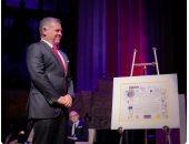 العاهل الأردنى يتسلم جائزة تمبلتون تقديرا لجهوده فى تحقيق الوئام بين الأديان