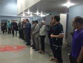 صور.. نائب رئيس بتروجت يطالب اللاعبين بتجاوز المحنة بحضور الجهاز الجديد