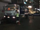 صور.. انتشار معدات الشفط بمحاور القاهرة الرئيسية تحسبا لسقوط أمطار