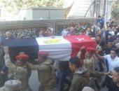 صور .. المنوفية تودع شهيد الواجب العريف إسلام ساهر شفيق بمسقط رأسه بقويسنا