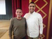 صور.. رئيس اتحاد طلاب جامعة بنى سويف: سنهتم بالطلاب ذوى الاحتياجات الخاصة