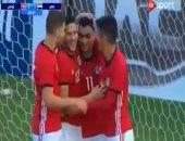 فيديو..منتخب مصر الأوليمبى يفوز على تونس 4 / 1 ودياً